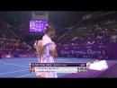 WTA Doha QF 2018 Bellis vs Halep