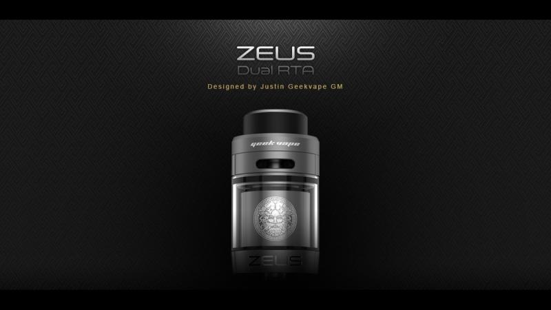 Бак Geek Vape Zeus Dual RTA обзор / Alex VapersMD