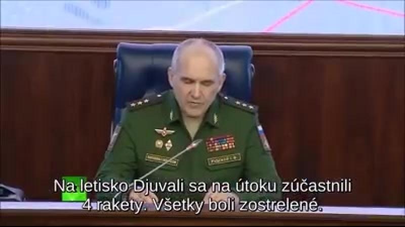 Útok USA a spojenců na Sýrii očima ruské armády