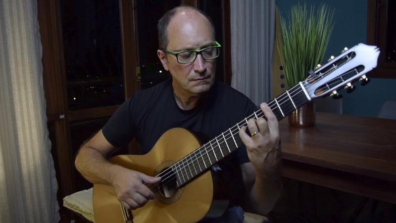 Classical guitar from Brazil- Ulisses Rocha plays: Estudo7