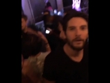 Ricky Whittle, Nathalie Emmanue and Ben Barnes/ after party Comic con SD