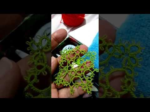 Frivolité - agulha de pescador × navete video 01