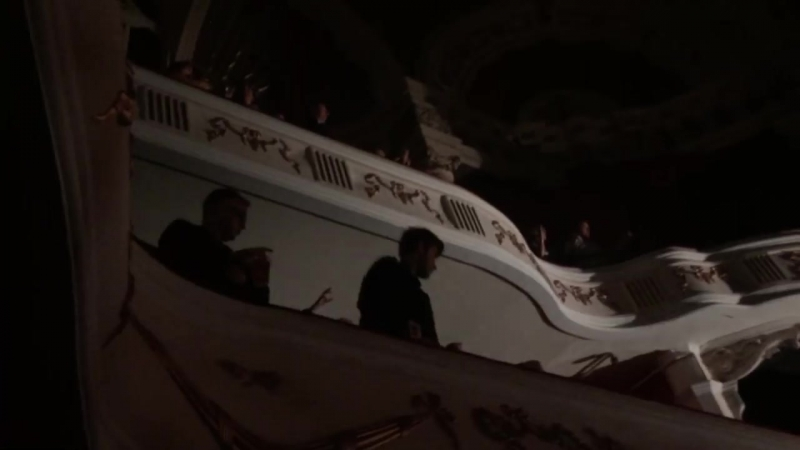 Dave Gahan Soulsavers - Walking In My Shoes feat. Andy Fletcher (balcony)