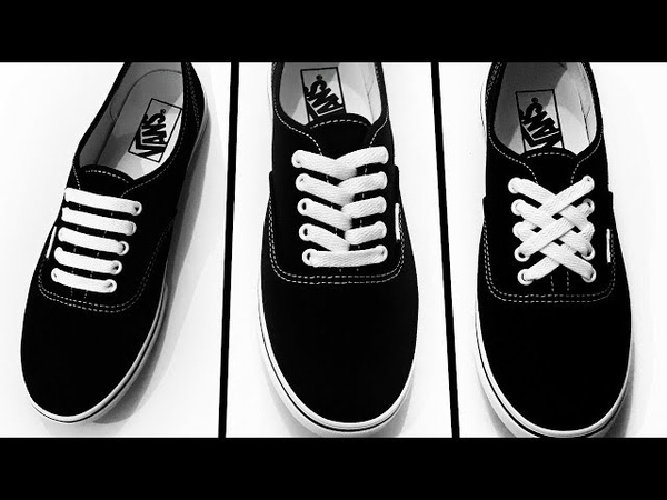 3 Creative Ways To Tie Shoe Laces