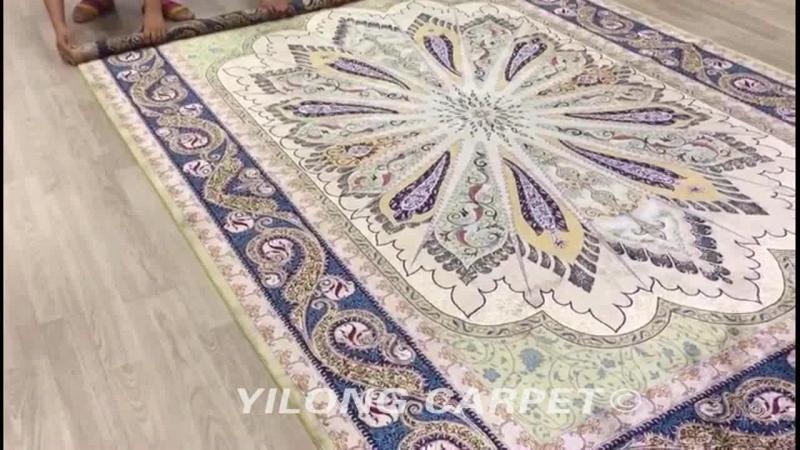 Oriental traditional rug Persian handmade silk carpet modern wool carpet