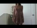 Сексуальная мениатюрная школьница, показывает себя в летнем легком , секс за деньгиплатице