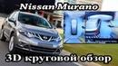 Nissan / Infiniti - установка системы кругового обзора с отличными характеристиками, омыватель камер