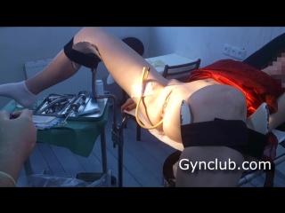 GynClub: Доктор осматривает пациентку - Фрося (часть 1) – [Medical Fetish, Gyno Exam, Anal Checkup, Roley Play]