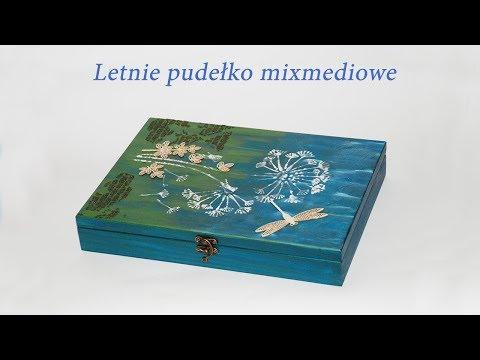 Decoupage krok po kroku - Mixmediowe pudełko - poradnik
