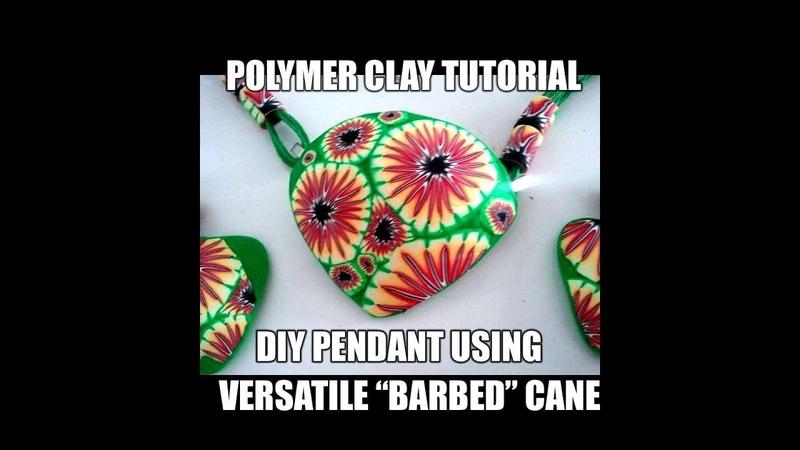 -088-Polymer clay tutorial - DIY set using