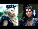 Evil Queen and Ravenna