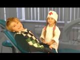 Дети играют в доктора - Все серии про стоматолога