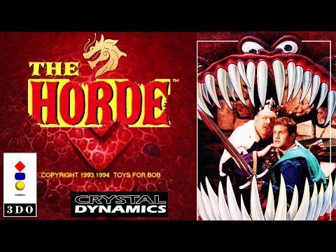 The Horde / Орда | Panasonic 3DO 32-bit | Полное прохождение