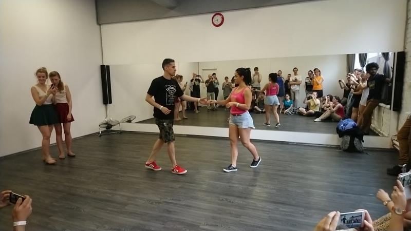 Витиньо и Памела - начинающие, связка (FORROaRU, 01.07.2018)
