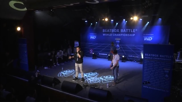 Gene vs Alem - 1/4 Final - 4th Beatbox Battle World Championship