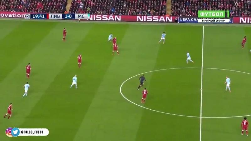 Una de las claves de la victoria del Liverpool presión asfixiante y juego vertical. - - ️ @pepe_servin