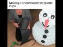 Снеговичок в полный рост