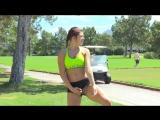 Fiona 1 на пробежке с голой попой.