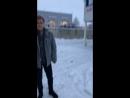 Чёрный снег в Выборге