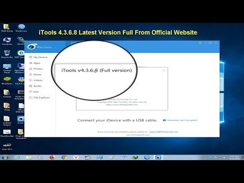 ITools 4.3.6.8 Full Version Crack License Key Not Needed[2018] Released