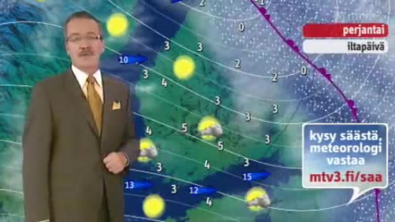 Прогноз погоды (MTV3 [Финляндия], 21.02.2008)