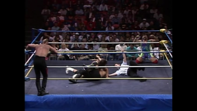 12.13.1989 - Steiner Brothers VS Rosd Warriors