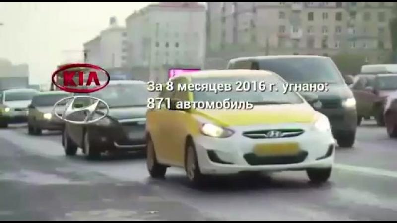 Видео как угнать авто боятся