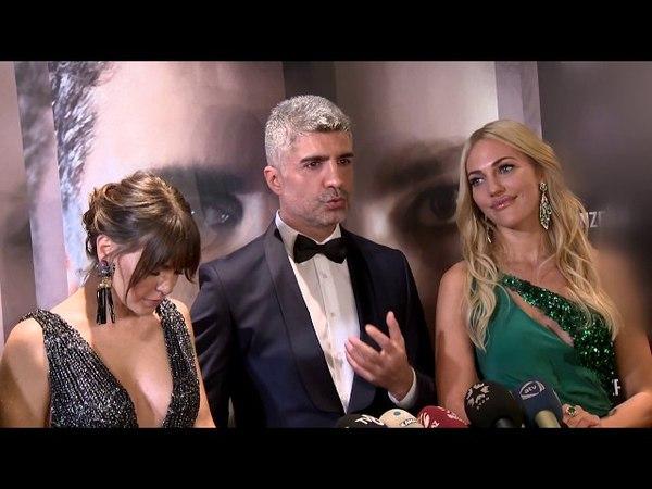 Öteki Taraf Filminin Galasında Dekolteler Geceye Damga Vurdu