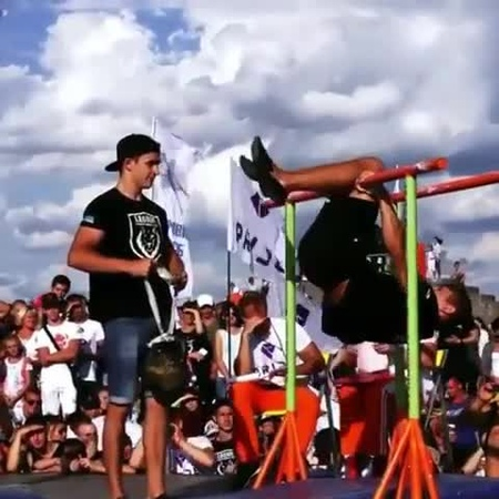 "Street workout on Instagram: ""✔ Please doubletab and tag a Friend below Back Lever Hefesto with 16kg by @andrey_yakymovych 😱😱😱 Use or Tag Me! 🐾 ..."
