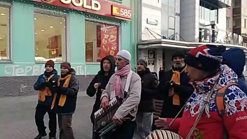 Харинама в Екатеринбурге. Ашеша Гопал дас. 11.11.2017
