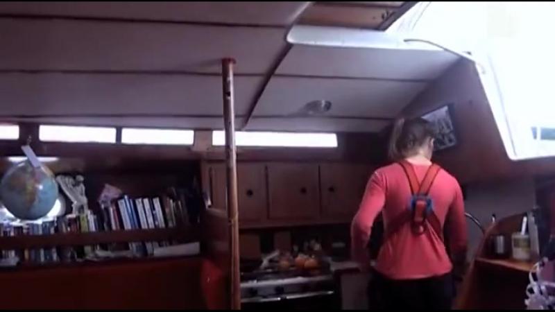 Лора Деккер Вокруг света на яхте в 15 лет