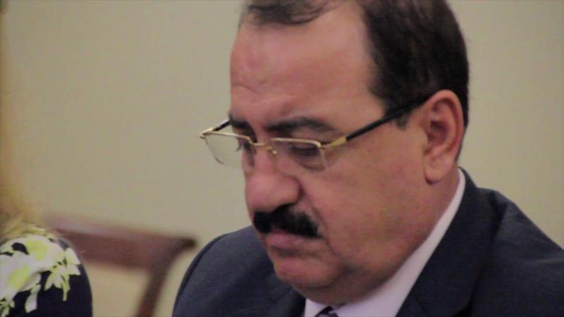 Посол Сирийской Арабской республики на Ассамблее Принятие Декларации Дети за мир