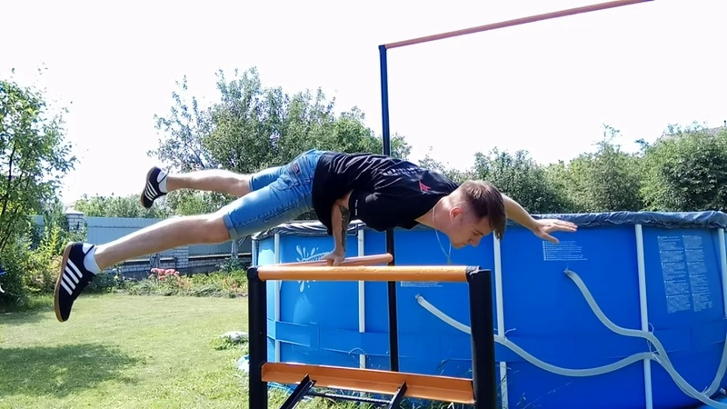 Street workout | dynamic and static elements DIma sap