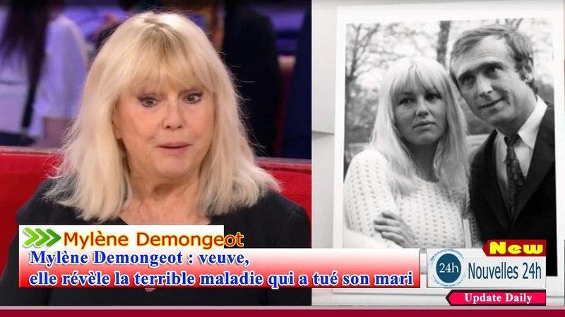 Mylène Demongeot Camping veuve elle révèle la terrible maladie qui a tué son mari