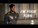 (Black Panther) Erik Killmonger || Nah, I'm your king