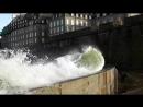 Grande marée Saint-Malo Môle des Noires 2014 Bretagne Storm Tide marea marée du