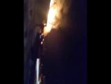 Замкнула проводка и взорвалось 2 газовых баллона в Бийске 28.11.17