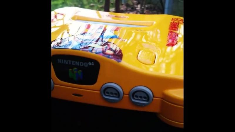 Nintendo 64 в стиле Donkey Kong
