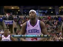 Kwame Brown's Last NBA Game. (Anything Is Possible) (27.01.2013)