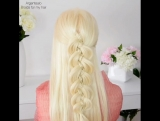Учимся делать косу из 5 прядей