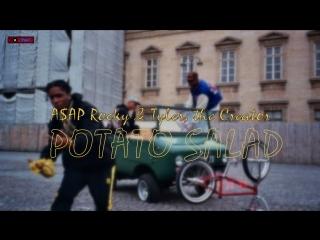#премьера♫ a$ap rocky & tyler & the creator  ○ potato salad ○ ⏪two®⏩
