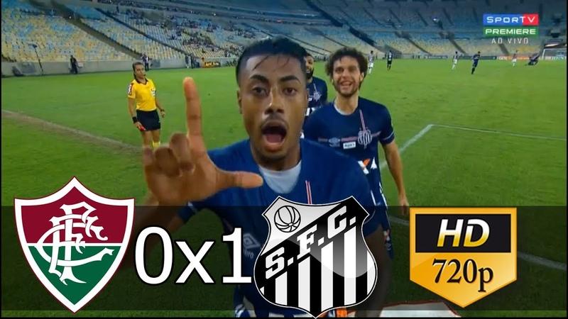 Fluminense 0 x 1 Santos (HD) Melhores Momentos e Gol - Brasileirão 13/06/2018