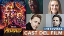 Incontro con il CAST di Infinity War Interviste