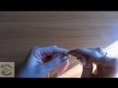 Пинетки крючком Микки Маусы 1 часть мордочка и подошва