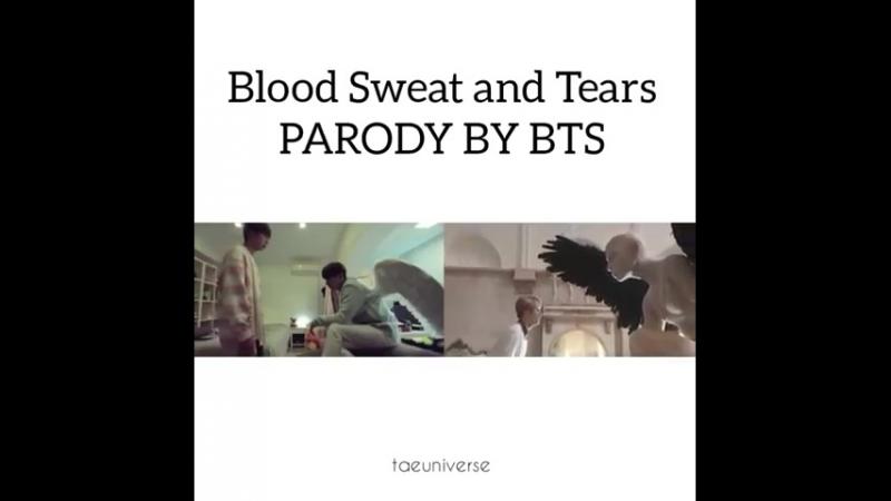 Blood, Sweat Tears parody by BTS