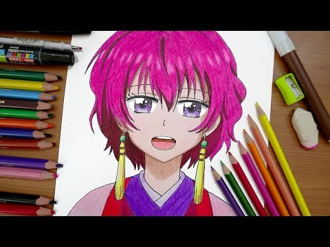 رسم يونا من انمي فجر يونا | Akatsuki no Yona