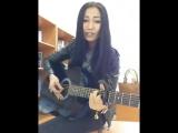 Казакша гитара Айнура Бакытты бол.mp4