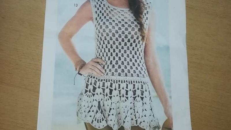 МК .Летняя туника -платье .Легко,быстро,красиво