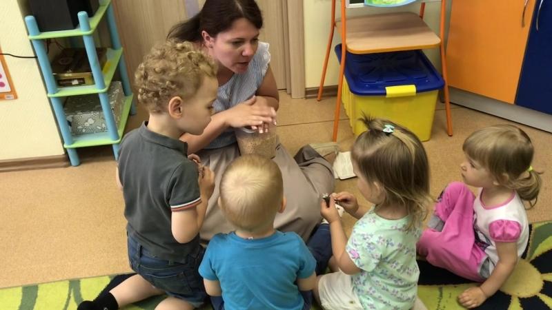 Изучаем морских обитателей с малышами