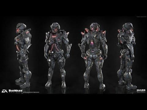 Gold SOLO Human Juggernaut Mass Effect Andromeda Multiplayer